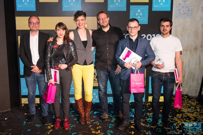 SCIndikátor 2018 döntő- győztesek és a kommunikációs zsűri